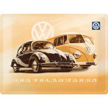 Табличка Nostalgic-Art VW Beetle and Bulli (20377)