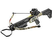 Арбалет Man Kung MK-XB27GODC-KIT Рекурсивный, винтовочного типа, пластиковый приклад цвет camo