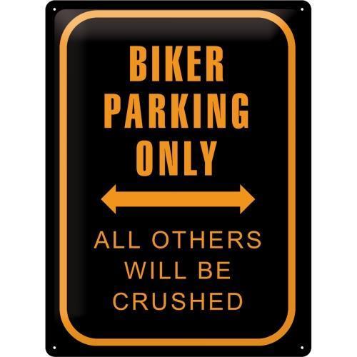 Табличка Nostalgic-Art Biker Parking Only (20381)