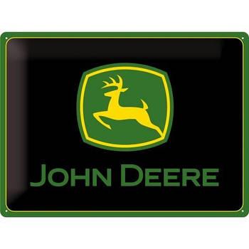Табличка Nostalgic-Art John Deere Logo black (23115)
