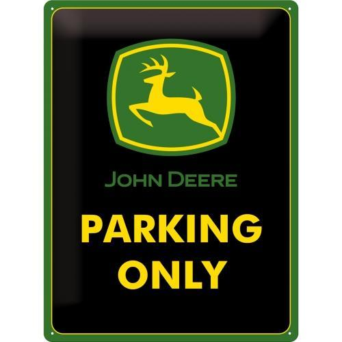 Табличка Nostalgic-Art John Deere Parking Only (23117)