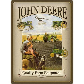 Табличка Nostalgic-Art John Deere Grandfather (23118)