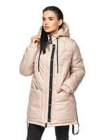 Удлиненная женская зимняя куртка Анжели