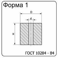 Вставка-заготовка твердосплавная 1010-1713 ВК20КС