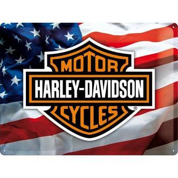 Табличка Nostalgic-Art Harley-Davidson USA (23126)