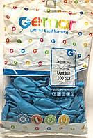 Шары надувные голубой Gemar Balloons