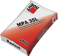 Штукатурка цементна Baumit MPA 35L, 25 кг. (БаумітМПА35Л)