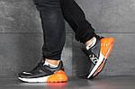 Мужские кроссовки Nike Air Max 270 (черно-оранжевые), фото 4