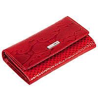 Женский кошелек Karya 1088-019 кожаный красный