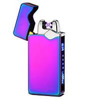 Запальничка SUNROZ DK-JL315 портативна електронна акумуляторна USB запальничка Хамелеон (SUN5546)