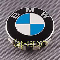 3613 6783536 Колпачек для оригинального диска BMW сине белый, фото 1