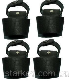 Чехлы под дубинку кожаные, черного цвета, ПР - 73, код : 471.