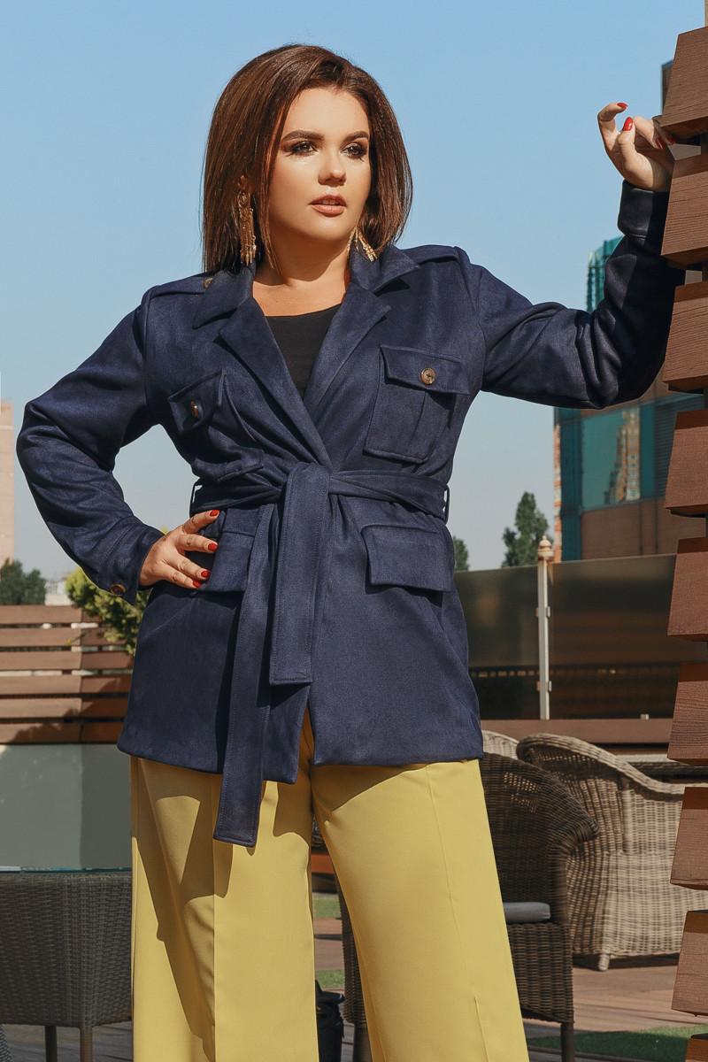 Куртка Lilove 705-2 56-58 синий