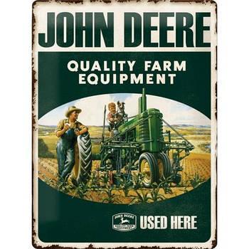 Табличка Nostalgic-Art John Deere Quality (23137)