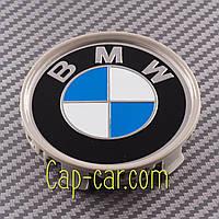 36131095361 Ковпачок для оригінального диска BMW, розбірний, синьо білий, фото 1