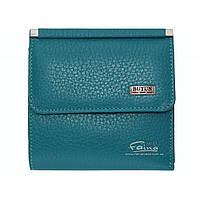 Женский кошелек кожаный бирюзовый Butun 590-004-050