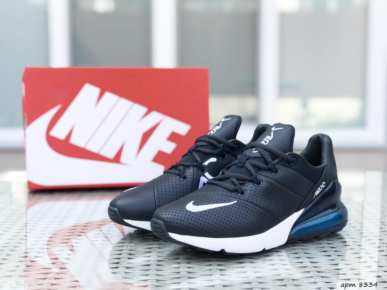 Мужские кроссовки Nike Air Max 270 (темно-синие)