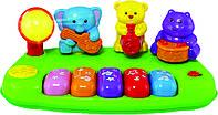 Детская музыкальная игрушка Пианино Jungle Band