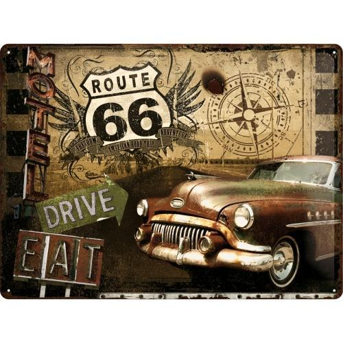 Табличка Nostalgic-Art Route 66 Road (23147)