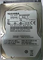 Жесткий диск HDD 300GB 5400rpm 8MB SATA II 2.5 Toshiba MK3259GSXP 22LYT15DTMC4, фото 1