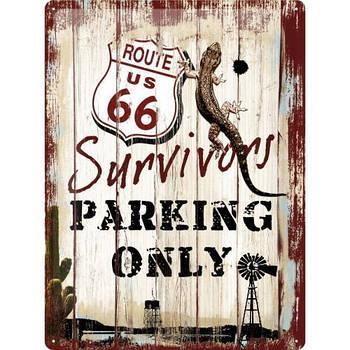 Табличка Nostalgic-Art Route 66 Survivors (23148)
