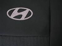 Чехлы фирмы EMC Элегант тканевые для Hyundai Accent 2011-