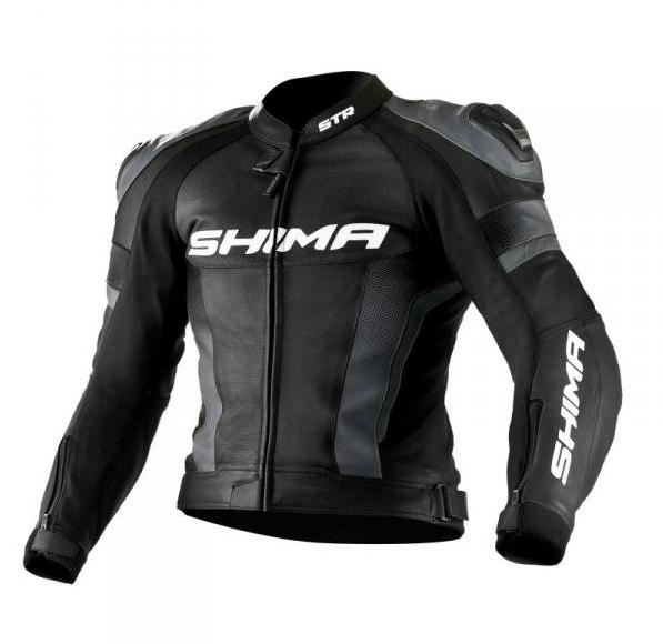 Мотокуртка Shima STR (Black)