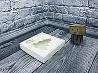 *10 шт* / Коробка для пряников / 150х150х30 мм / Белая / окно-НГ-Ель / НГ, фото 1