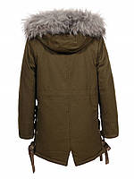 Куртки на меху для девочек оптом, Glo-Story, 110-160 рр., арт. GSX-6782, фото 2