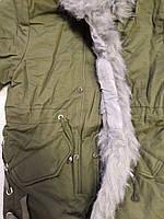 Куртки на меху для девочек оптом, Glo-Story, 110-160 рр., арт. GSX-6782, фото 3