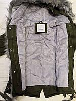 Куртки на меху для девочек оптом, Glo-Story, 110-160 рр., арт. GSX-6782, фото 8