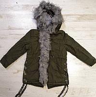 Куртки на меху для девочек оптом, Glo-Story, 110-160 рр., арт. GSX-6782, фото 7