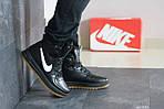 Мужские кроссовки Nike Lunar Force 1 (черно-белые), фото 3