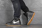 Мужские кроссовки Nike Lunar Force 1 (черно-белые), фото 5