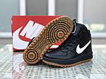 Мужские кроссовки Nike Lunar Force 1 (черно-белые), фото 6