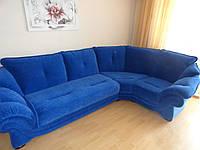 Перетяжка углового дивана. Мягкая мебель на заказ., фото 1