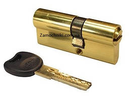 Цилиндр Imperial M 70 мм.(30х40) ключ/ключ желтый