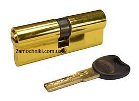 Цилиндр Imperial M 80 мм.(40х40) ключ/ключ желтый