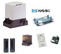 FAAC 741 Комплект привода для откатных ворот до 900 кг.