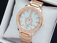 Женские наручные часы  Пандора (Pandora) розовое золото, с перламутровым циферблатом - код 1544, фото 1