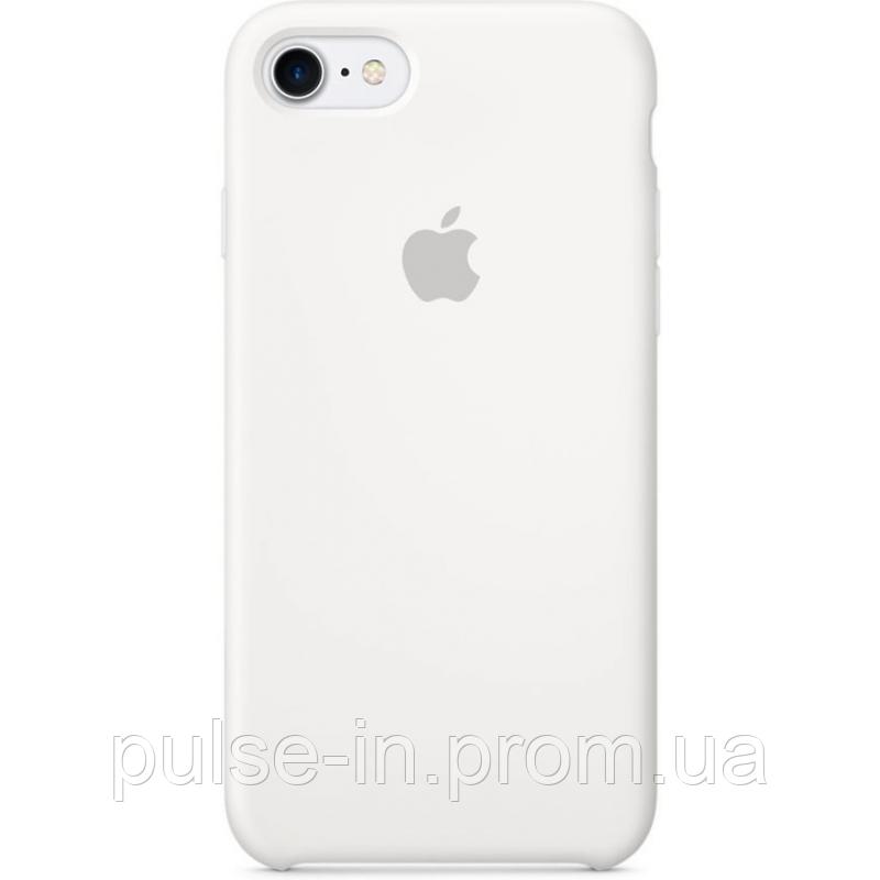 Чехол qCase Apple Silicone Case для iPhone 7/8 White (MMWF2)