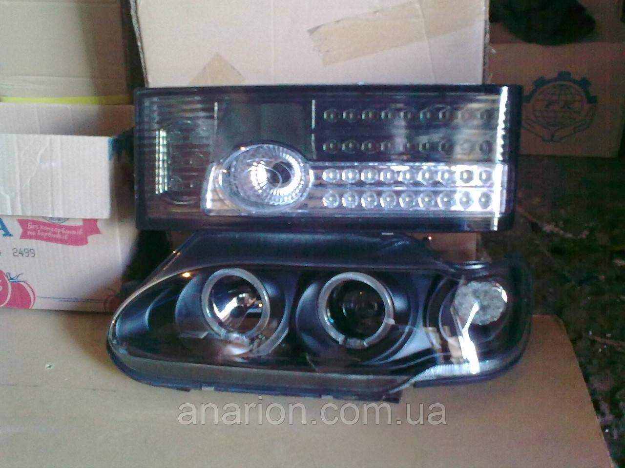 Передние фары + задние фонари Освар-диодный №2 на ВАЗ 2113.