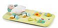 Игровой Манеж Cam Brevettato Millegiochi с развивающим ковриком,Бирюзовый с овечкой, фото 7