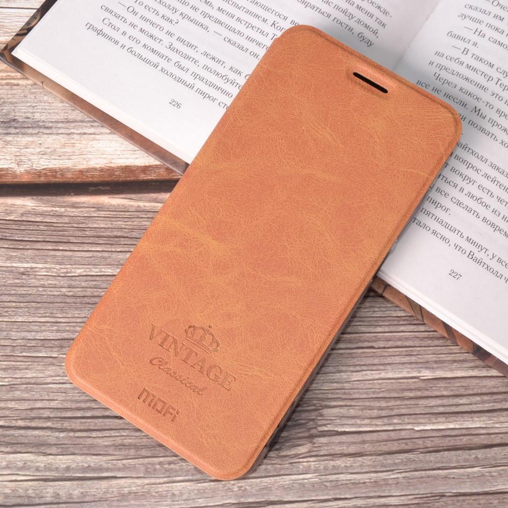 Чехол-книжка MOFI Vintage Series для Xiaomi Redmi Note 6 Pro brown