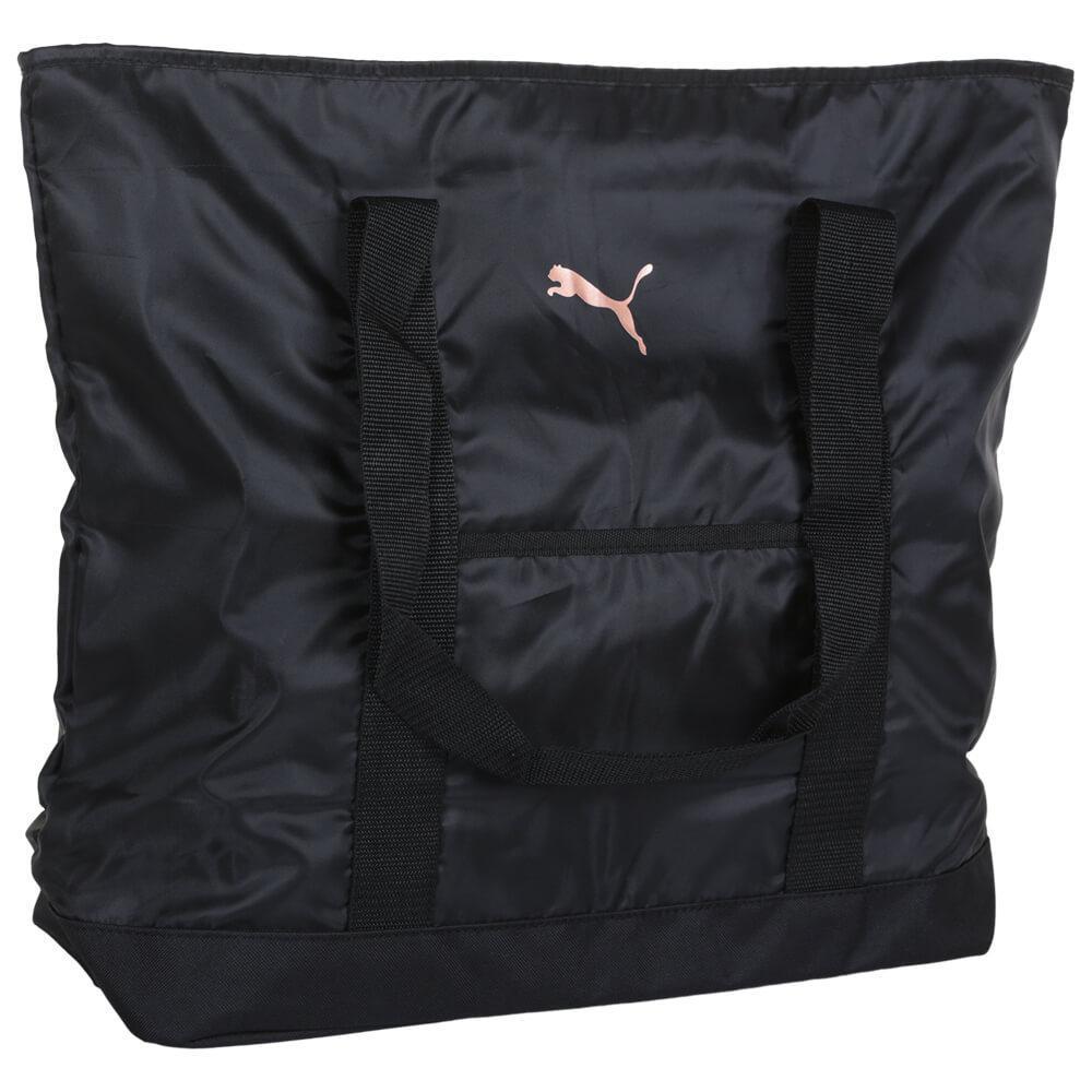 Вместительная стильная спортивная черная женская сумка PUMA Evercat Cambridge Tote Америка