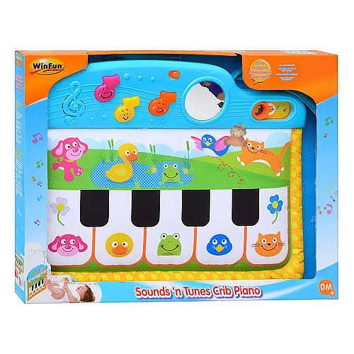 Музыкальная игрушка на кроватку Пианино