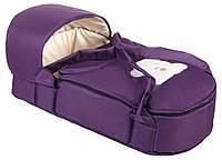 Люлька-переноска сумка  для новорожденного Babyroom (Фиолетовая)