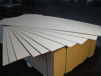 ДВП ламинированное белое 2850х1250х2,5 мм.