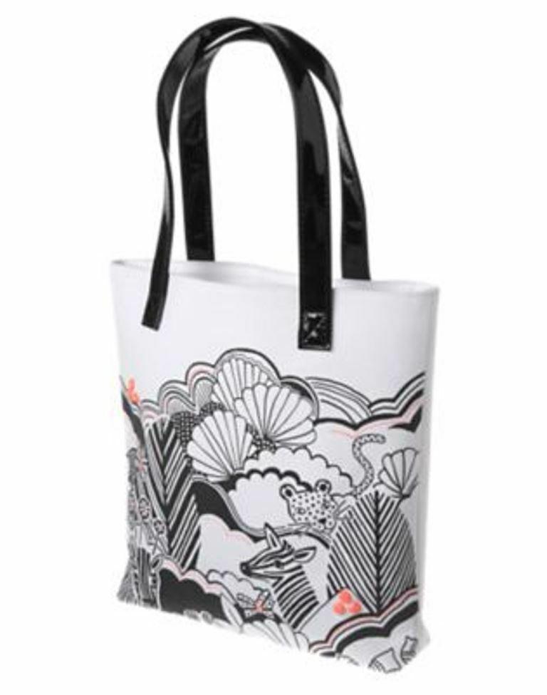 Хлопковая белая сумочка с принтом джунглей Джимбори Gymboree Animal Party Tote (США)