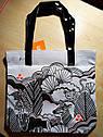 Хлопковая белая сумочка с принтом джунглей Джимбори Gymboree Animal Party Tote (США), фото 2
